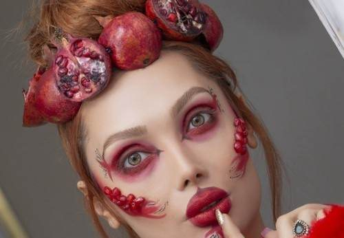 مدل آرایش شب یلدا