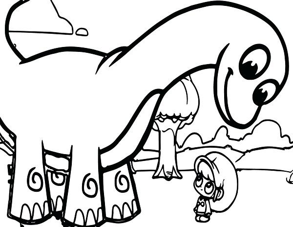 آموزش نقاشی دایناسور برای کودکان