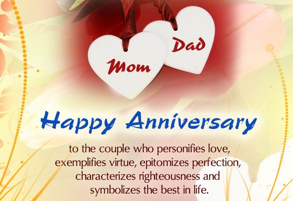 متن تبریک سالگرد ازدواج پدر و مادر با جملات زیبا و دلنشین