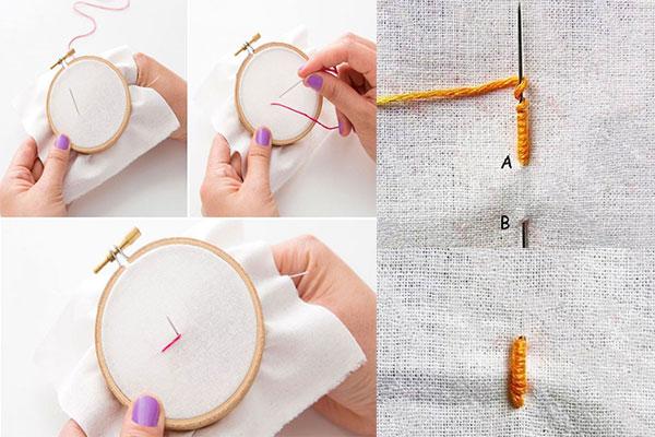آموزش گلدوزی روی لباس + مواد لازم و مراحل انجام این کار روی لباس