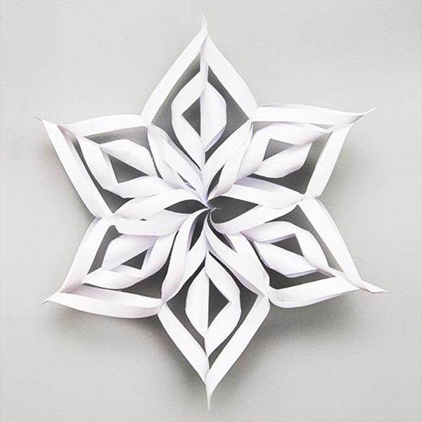 کاردستی ساده با کاغذ سفید