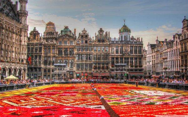 مکان های دیدنی بلژیک