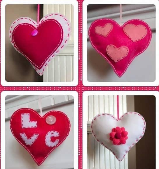 Photo of آموزش ساخت قلب با نمد + طرح های یبای قلب قرمز نمدی