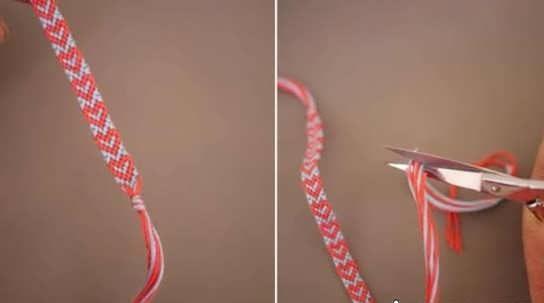 مدل دستبند بافتنی + آموزش ساخت دستبند بافتنی با کاموا