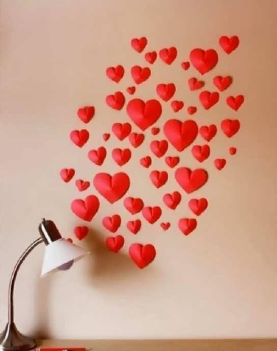 آموزش ساخت قلب کاغذی رمانتیک