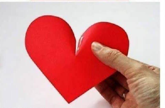 Photo of آموزش ساخت قلب کاغذی رمانتیک + آموزش مرحله به مرحله تصویری