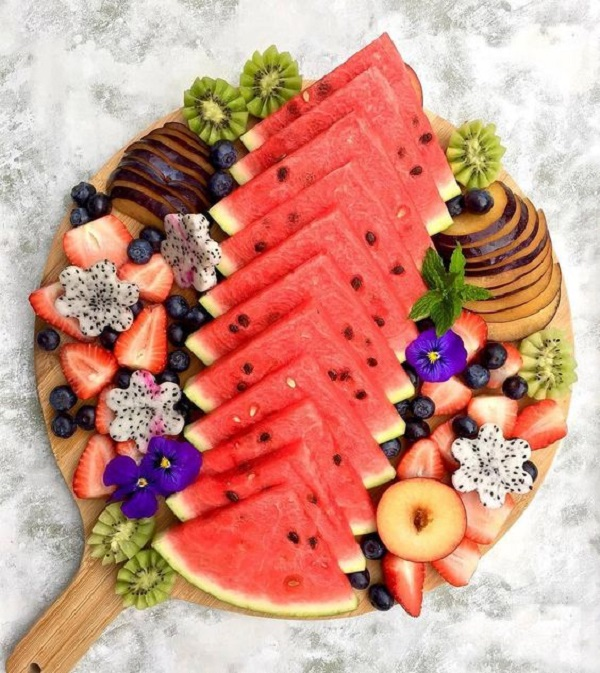 تزیین سبد میوه