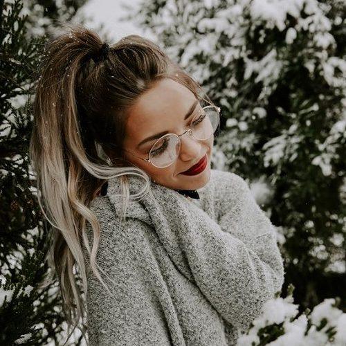 عکس پروفایل برفی دخترانه + متن های زیبا در مورد برف و زمستان ...