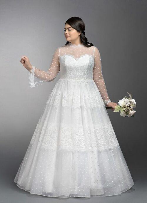 مدل لباس عروس خانم های چاق + ۲۰ مدل لباس شیک عروس و نکات مهم