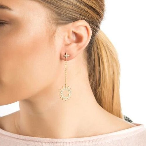 Photo of مدل گوشواره آویز + 20 مدل شیک از گوشواره های طلا و فانتزی آویز