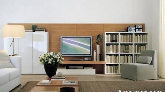 اصول چیدمان تلویزیون در پذیرایی و نشیمن