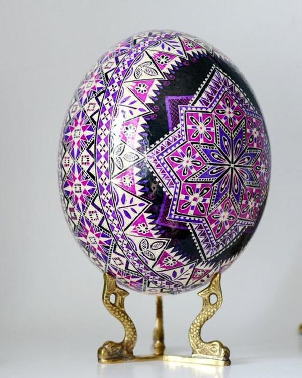 Photo of نقاشی تخم شترمرغ + ایده های جالب برای تزیین و نقاشی روی تخم شترمرغ