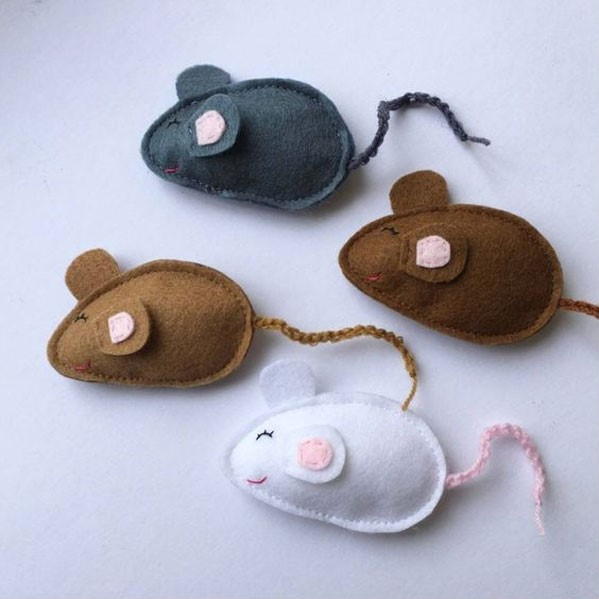 Photo of آموزش دوخت موش نمدی به صورت مرحله به مرحله و تصویری
