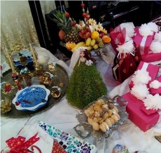 تزیین عیدی عروس
