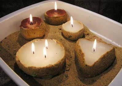 Photo of ساخت شمع ماسه ای رمانتیک + آموزش ساخت به صورت مرحله به مرحله