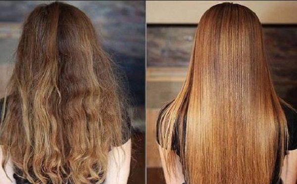 عوارض صاف کردن مو