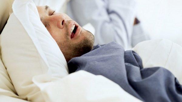 تنگی نفس در خواب