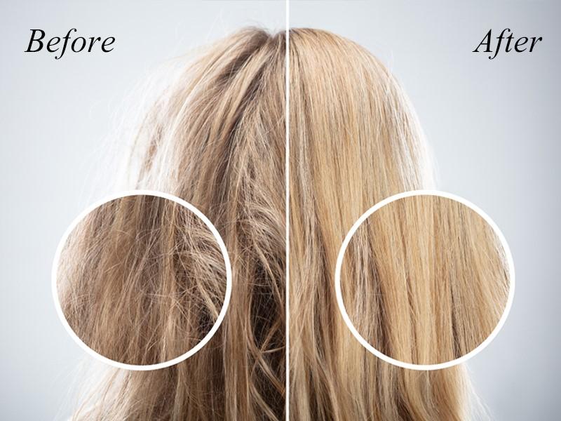 سریع ترین روش ترمیم و احیای موهای سوخته