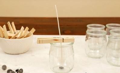 نحوه ساخت شمع سرد معطر