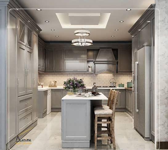 Photo of دکوراسیون آشپزخانه مستطیل + تصاویری از شیک ترین مدل های طراحی
