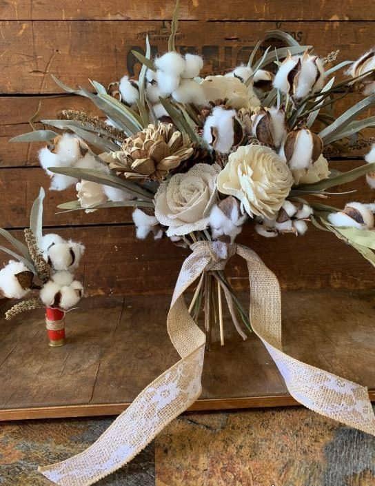 مدل دسته گل عروس روستیک