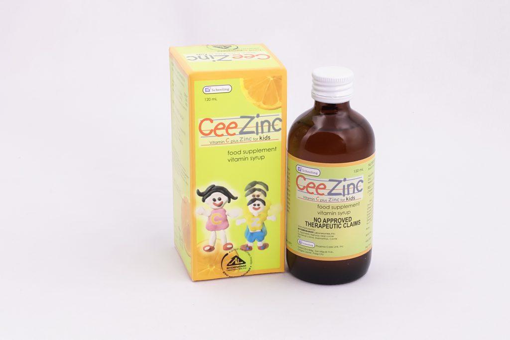 مصرف زینک برای کودک
