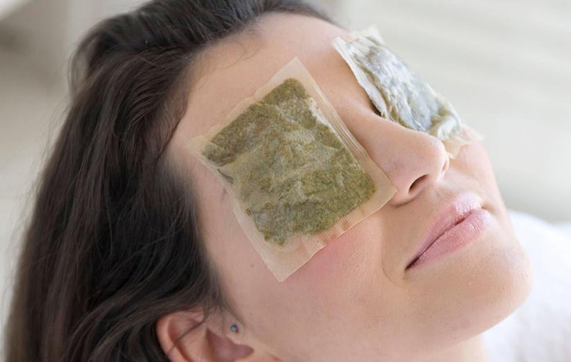 نحوه استفاده از چای کیسه ای برای زیبایی و سلامت چشم ها