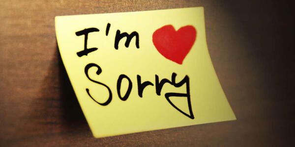 عذرخواهی از همسر