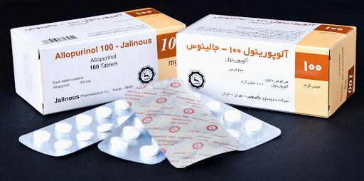 اطلاعات دارویی قرص آلوپورینول