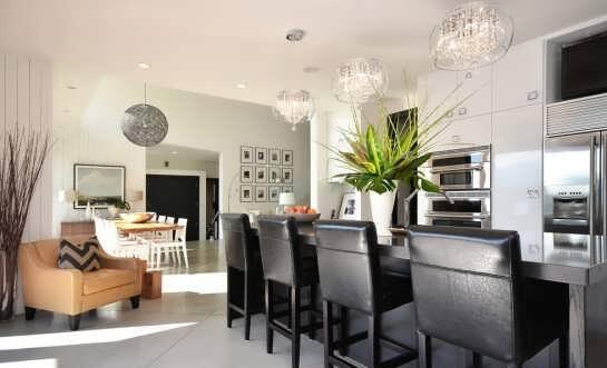 مدل لوستر آشپزخانه مدرن و لاکچری