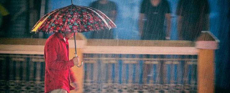 متن عاشقانه روزهای بارانی