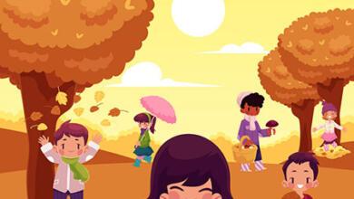 Photo of شعر پاییز کودکانه + شعر زیبای کوتاه و بلند کودکانه در مورد فصل پاییز