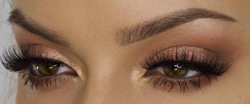 آموزش آرایش چشم عسلی