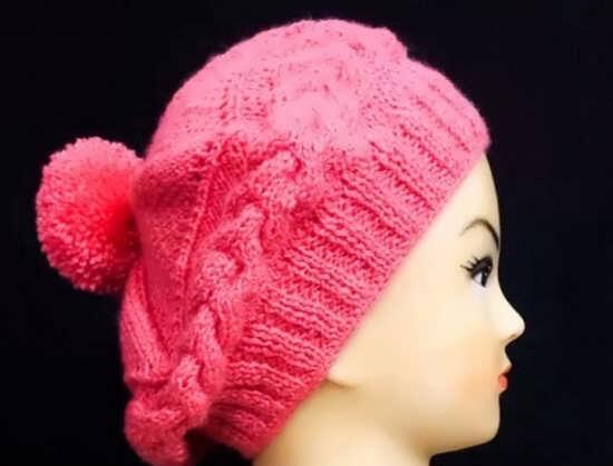 بافت کلاه دخترانه