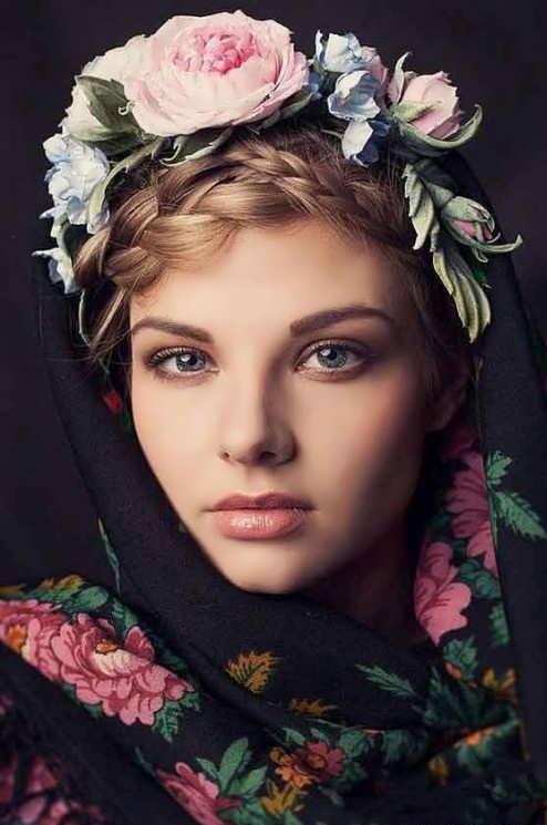 مدل های زیبای بافت مو ویژه زیر روسری و شال با طرح های زیبا