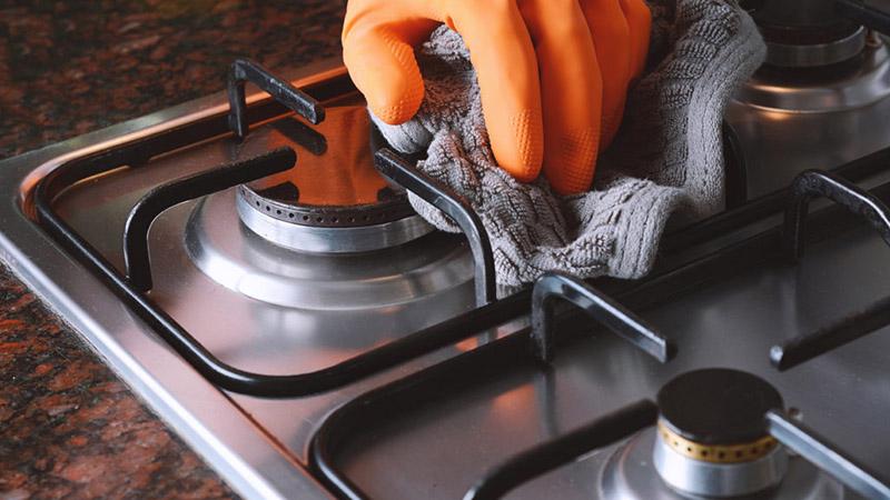 نکات و تکنیک های خاص تمیز کردن اجاق گاز