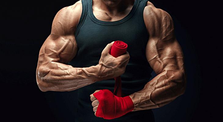 روش های برجسته کردن رگ ها با تمرینات ورزشی با رژیم غذایی خاص