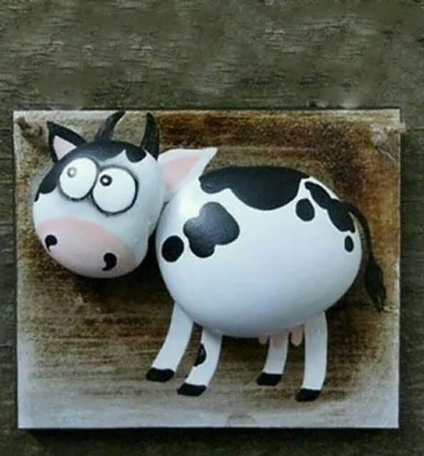 آموزش ساخت عروسک گاو نمدی