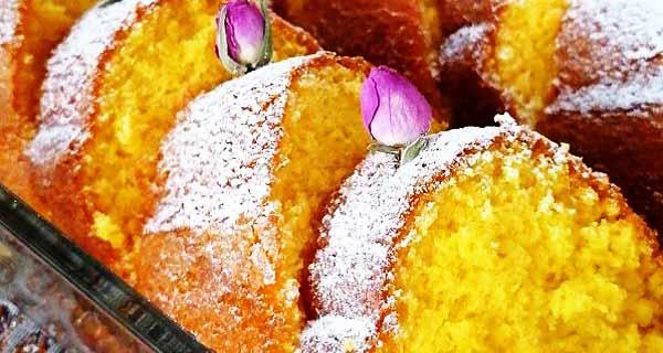 طرز تهیه کیک زعفرانی