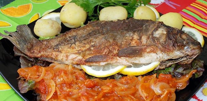 طرز تهیه ماهی کپور