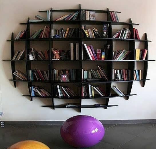 مدل قفسه کتاب + تصاویر انواع مدل های قفسه کتاب خلاقانه و با طراحی کاربردی