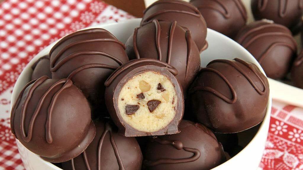 طرز تهیه شکلات مغزدار بسیار خوشمزه در منزل