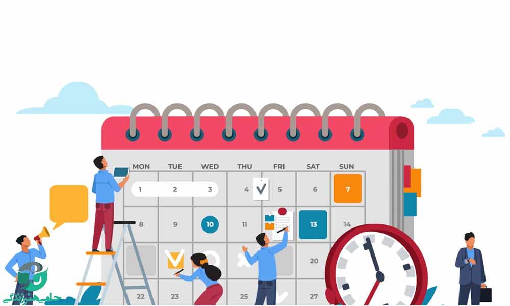 روش تنظیم برنامه هفتگی برای رسیدن به اهداف روزانه در زندگی