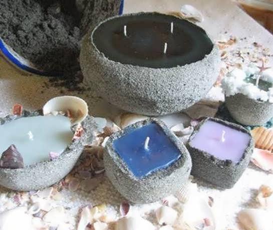 آموزش ساخت شمع شنی به صورت مرحله به مرحله و آسان