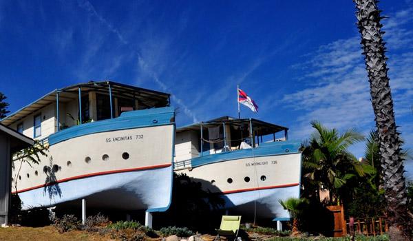 خانه کشتی شکل