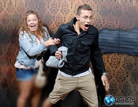 تصاویری خنده دار از چهره انسان هنگام ترس