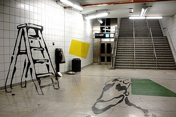 تصاویری جالب از هنرهای خیابانی