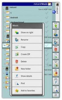نرم افزار مدیریت فایل ها در آندروید با X-plore File Manager v2.03