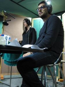 حامد بهداد و مونیکا بلوچی