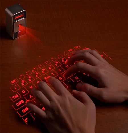 صفحه کلید لیزری